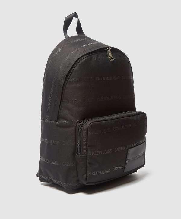 Calvin Klein All Over Print Gloss Backpack