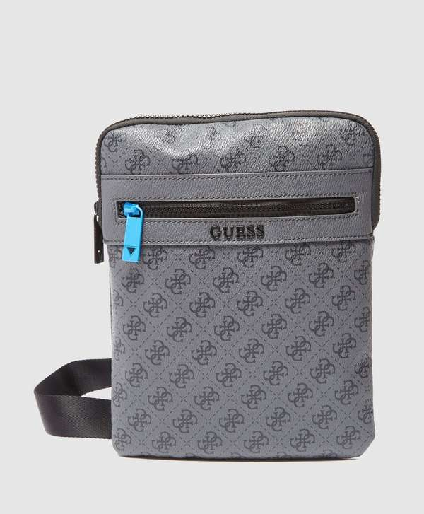 Guess Monogram Print Small Item Bag