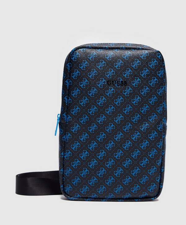 Guess Monogram Print Crossover Backpack