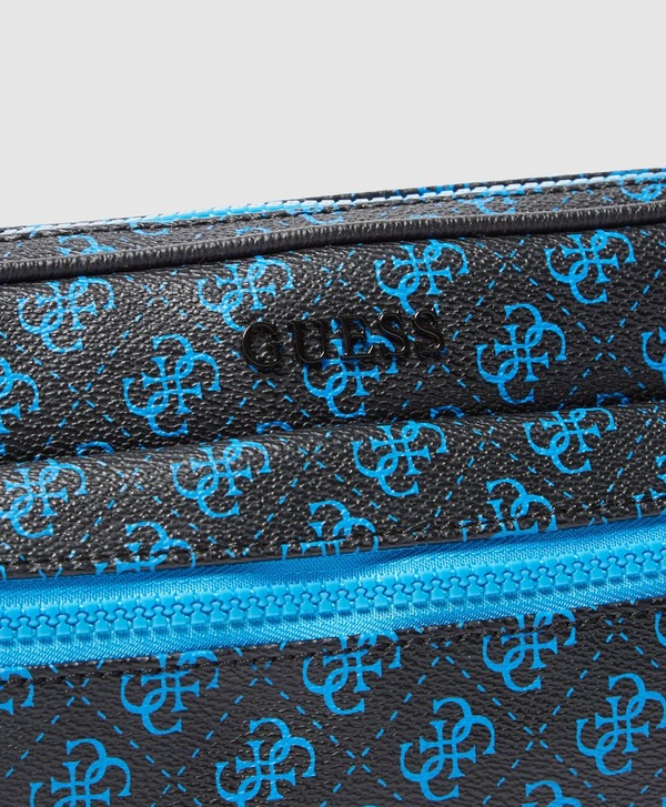 Guess Monogram Print Bum Bag