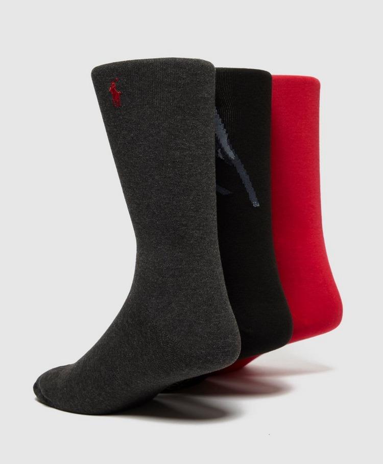 Polo Ralph Lauren 3 Pack Bear Gift Socks