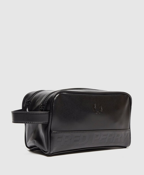 Fred Perry Embossed Logo Wash Bag
