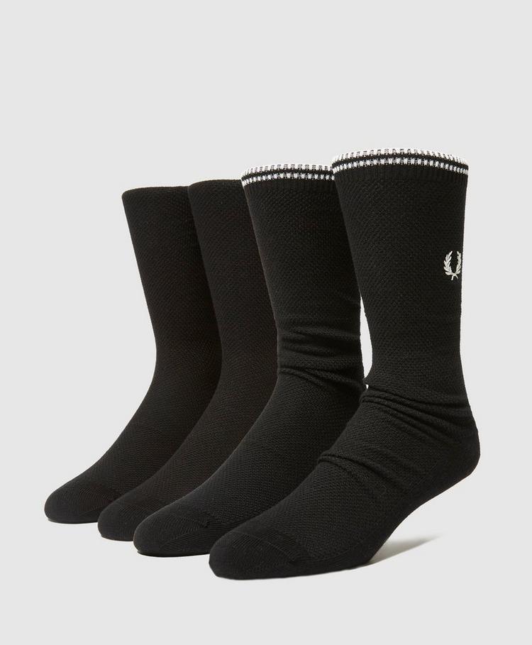 Fred Perry Logo Crew Socks