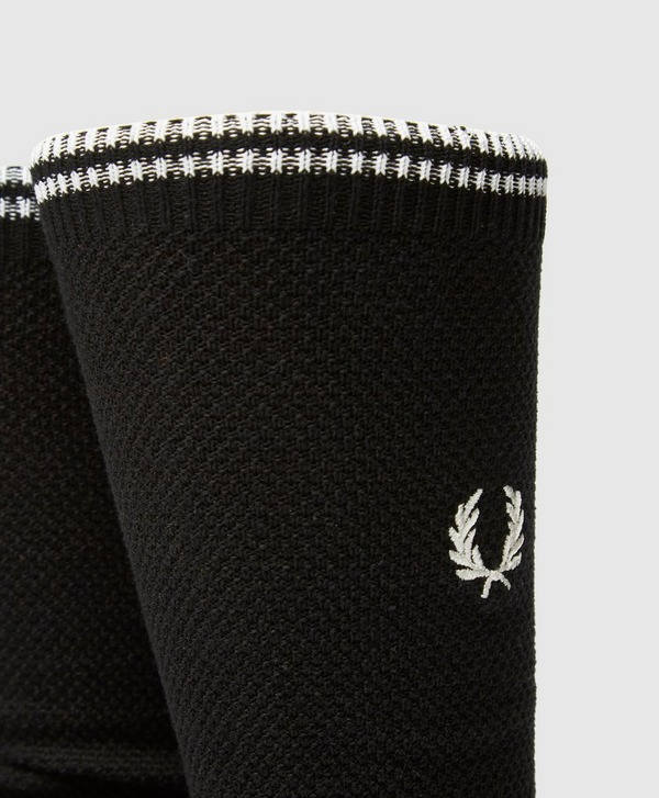 Fred Perry Logo Crew Socks