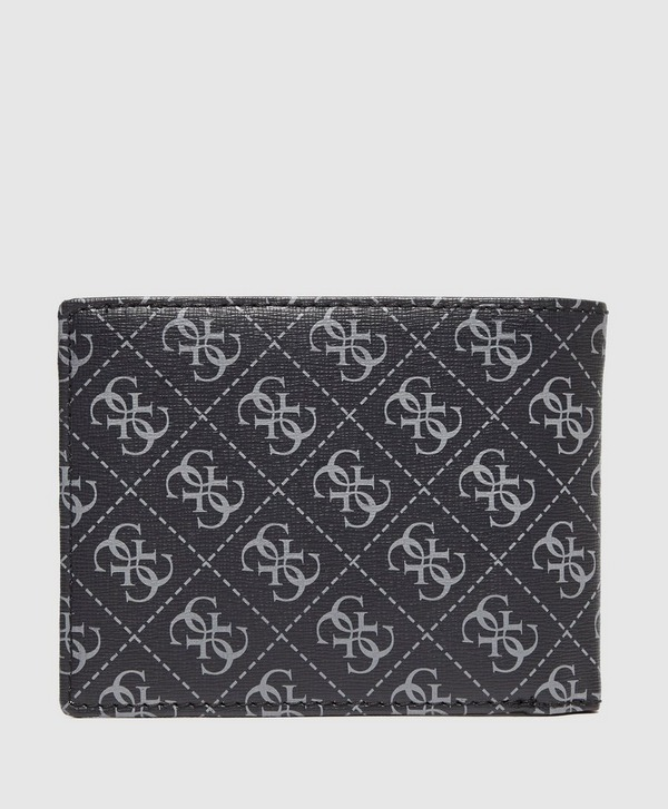 Guess Monogram Print Wallet