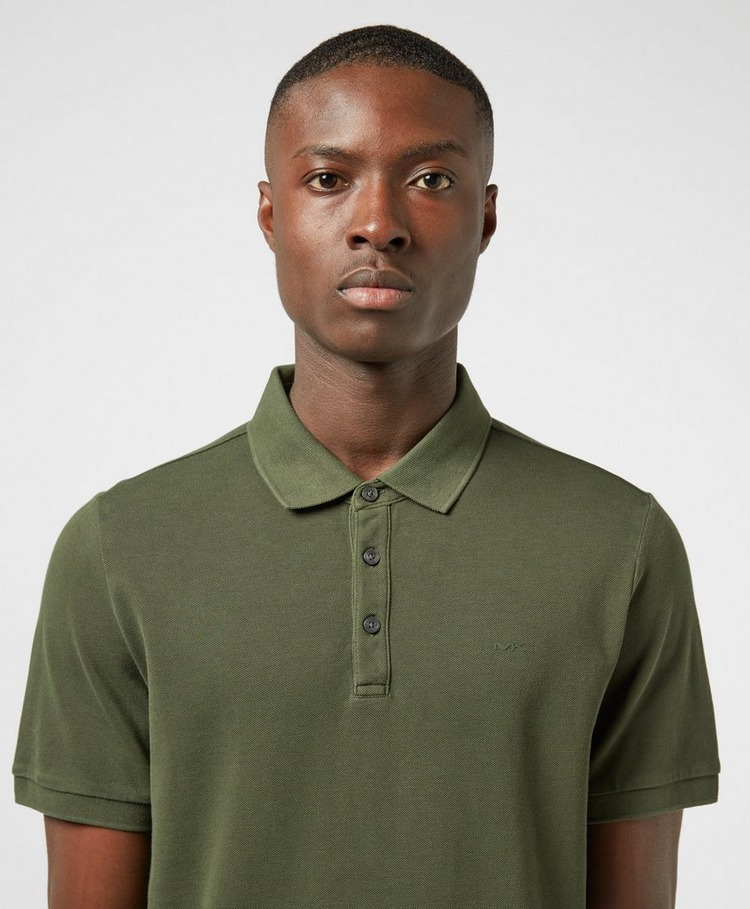 Michael Kors Garment Dyed Short Sleeve Pique Polo Shirt