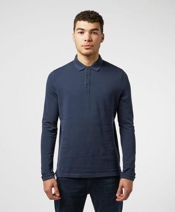 Michael Kors Pique Long Sleeve Polo Shirt