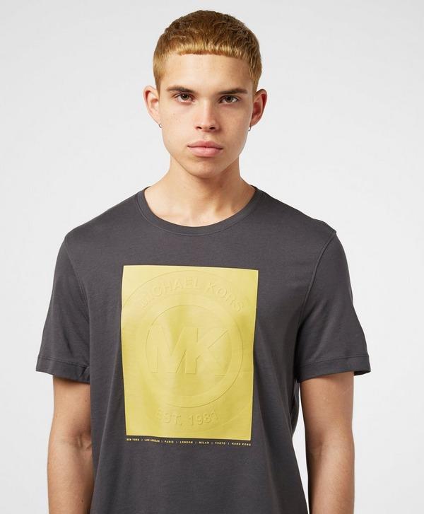 Michael Kors Rubber Graphic Short Sleeve T-Shirt