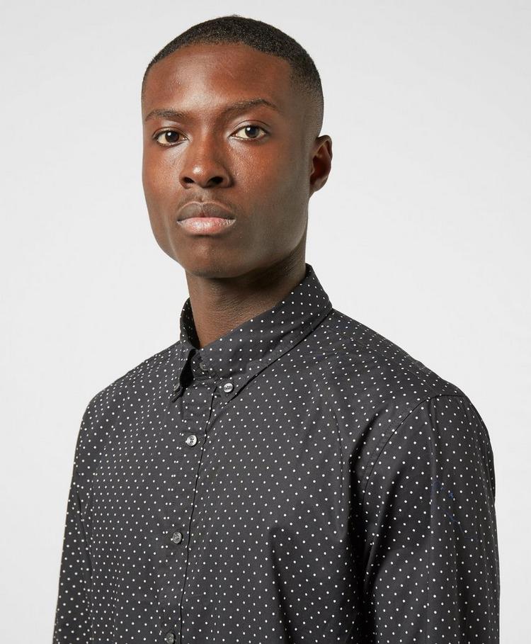 Michael Kors Polka Dot Long Sleeve Shirt