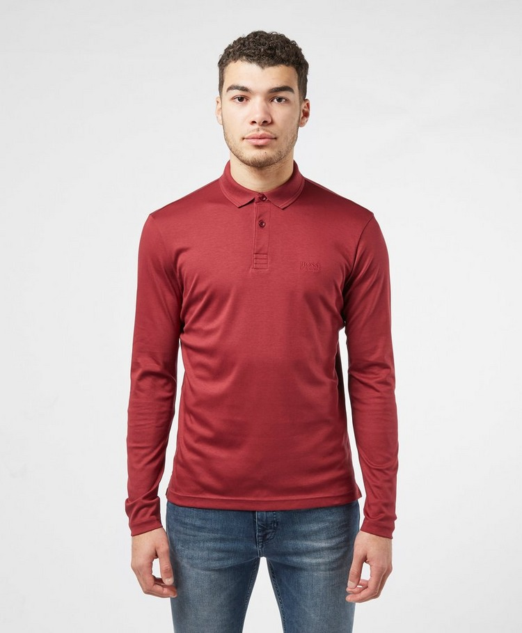 BOSS Pirol Long Sleeve Polo Shirt