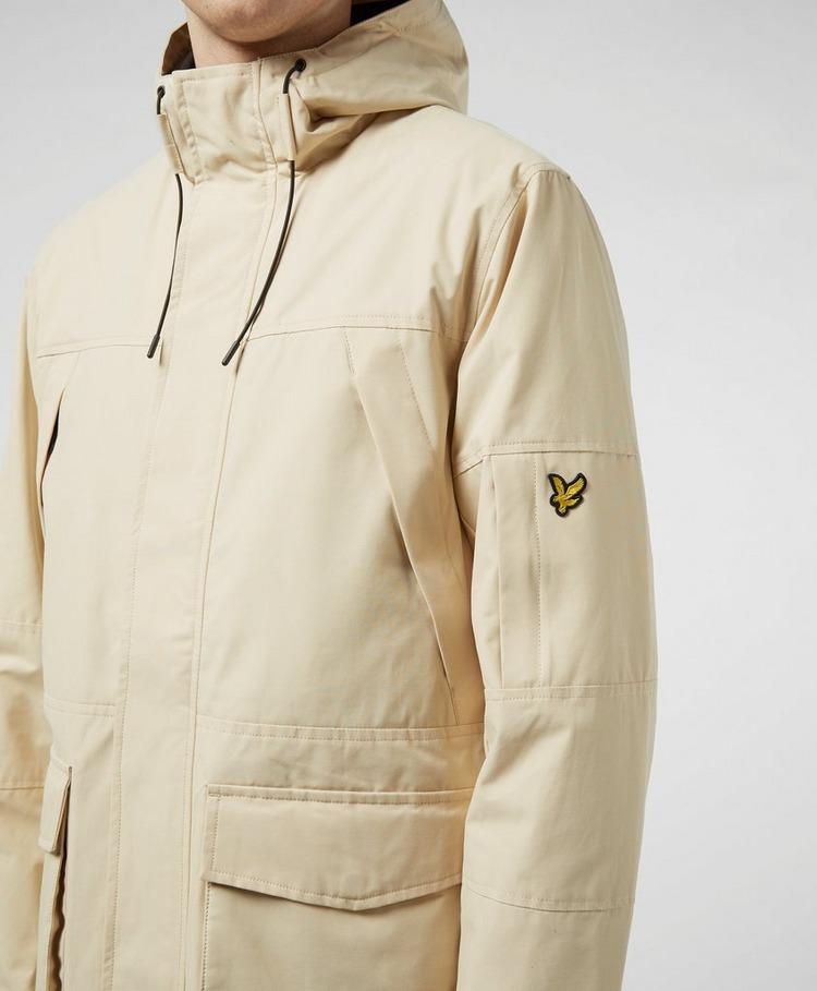 Lyle & Scott Panelled Hooded Parka Jacket