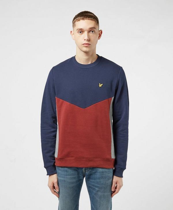 Lyle & Scott Multi Panel Sweatshirt