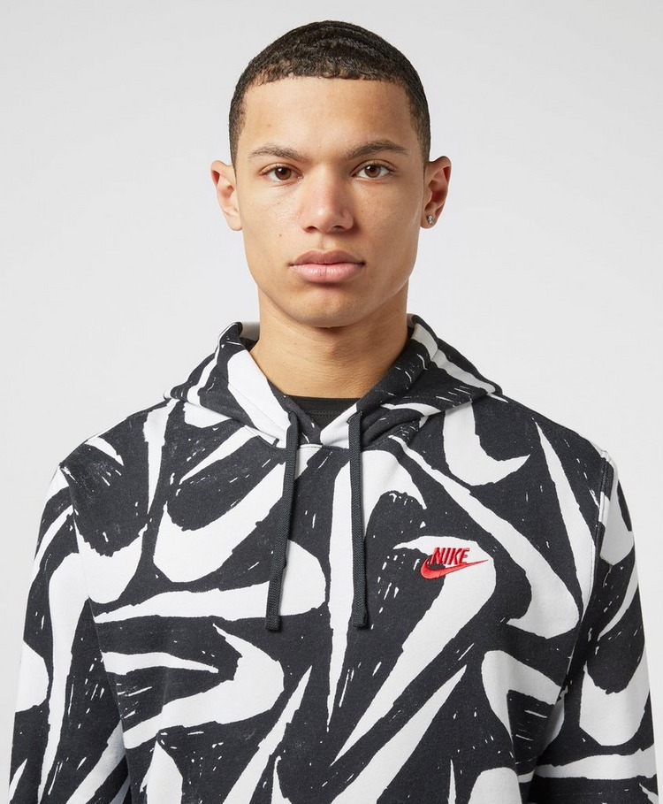 Nike Foundation All Over Print Swoosh Hoodie