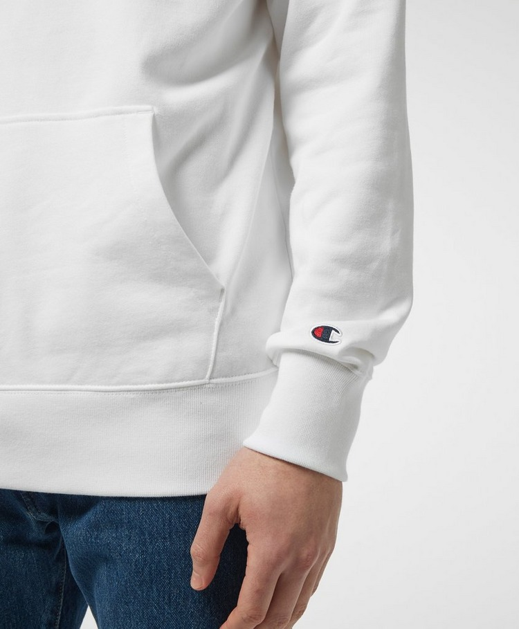 Champion Central Logo Half Zip Hoodie