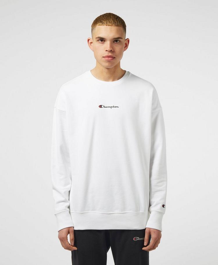 Champion Central Script Logo Sweatshirt