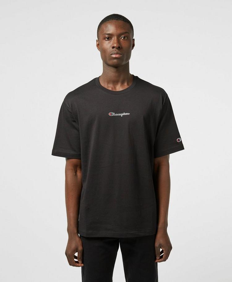 Champion Central Logo Short Sleeve T-Shirt