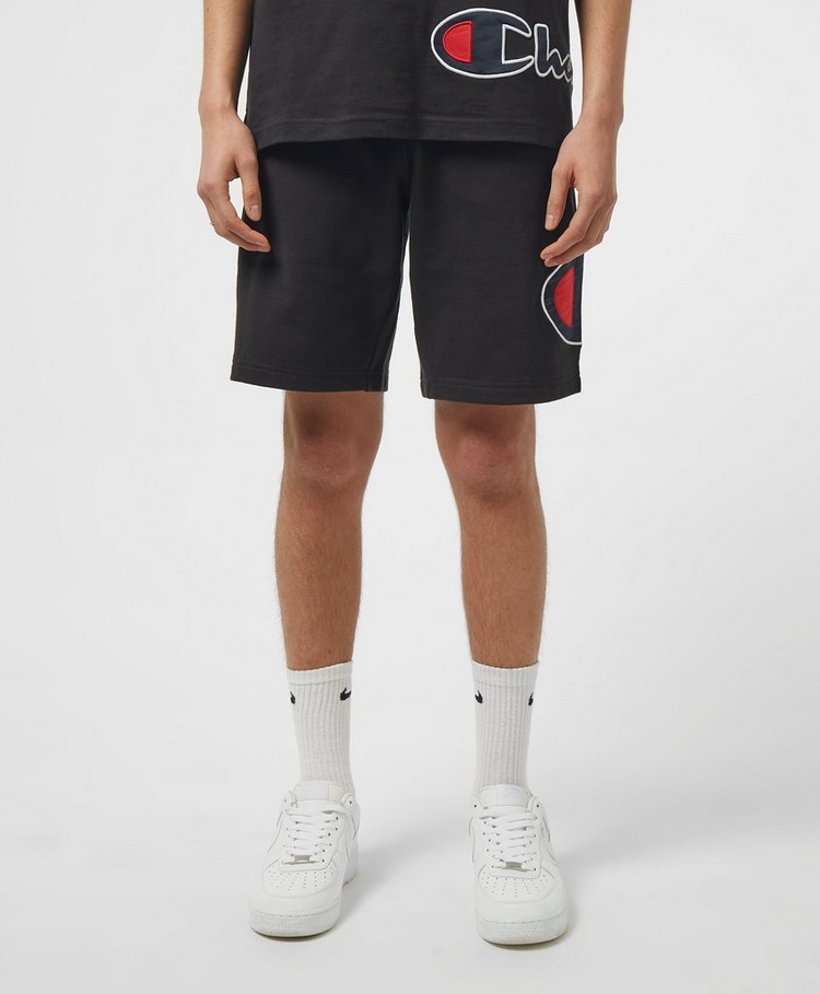 Champion Block Logo Fleece Shorts