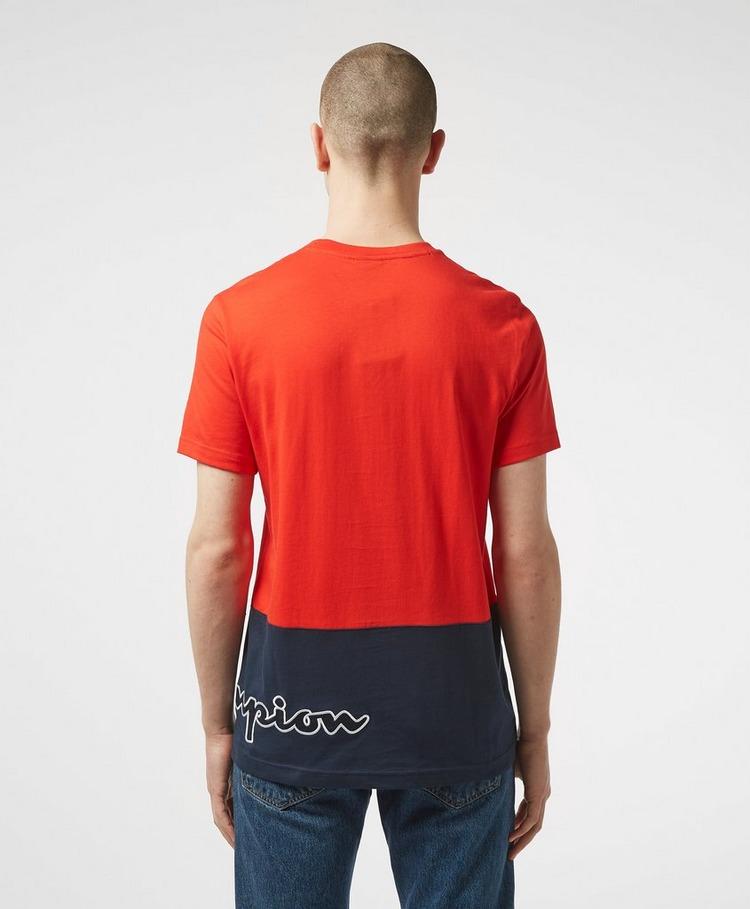 Champion Block Logo Short Sleeve T-Shirt