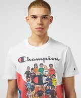 Champion Retro Print Squad Short Sleeve T-Shirt