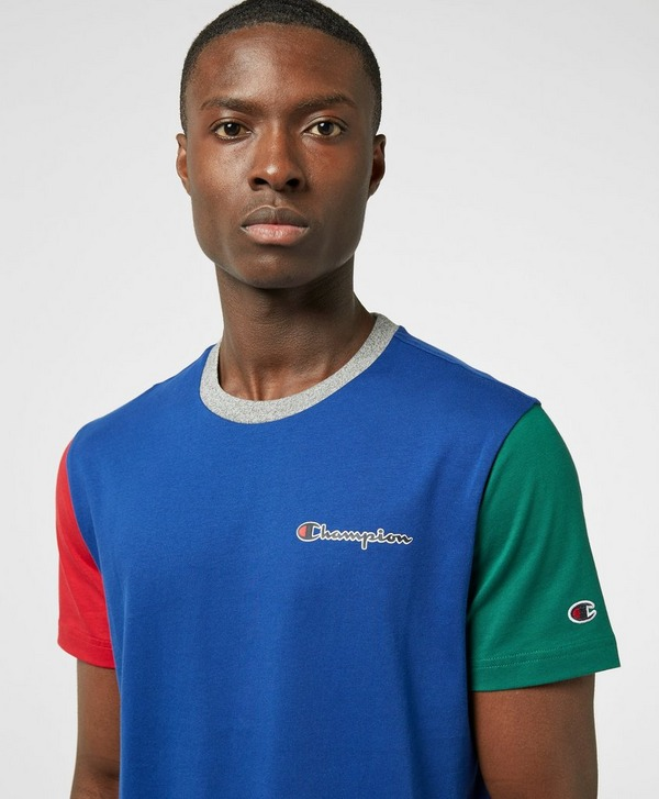 Champion Block Arm Short Sleeve T-Shirt