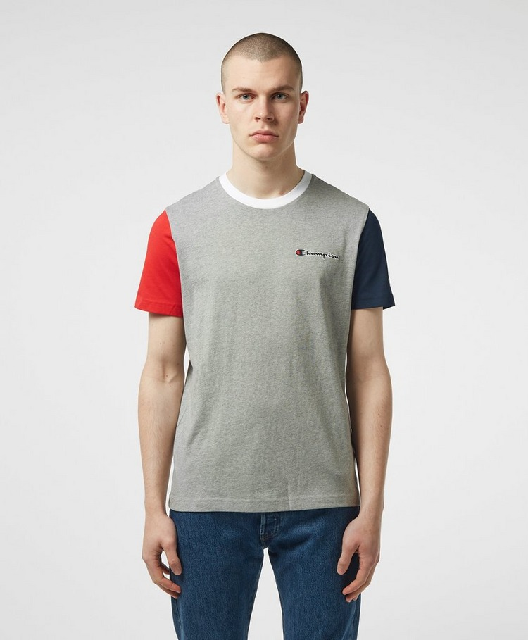 Champion Block Arm Short Sleeve T-Shirt
