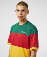 Champion Block Stripe Short Sleeve T-Shirt