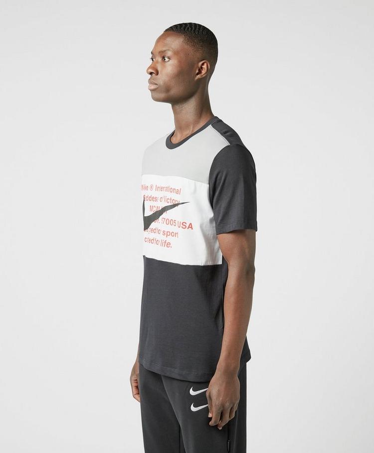 Nike Text Swoosh Short Sleeve T-Shirt