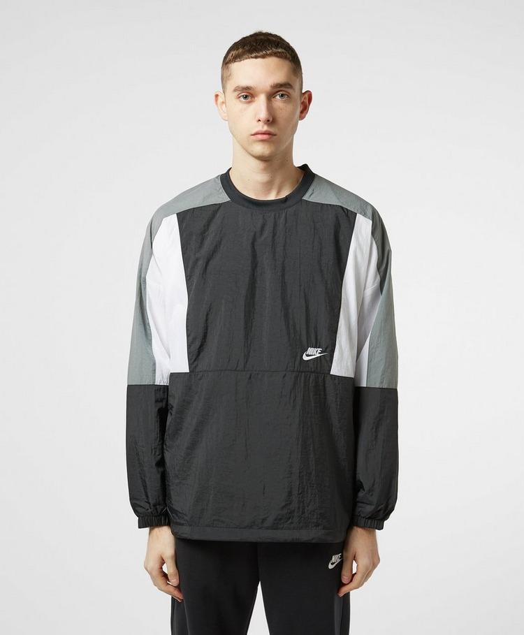 Nike Club Colour Block Woven Sweatshirt