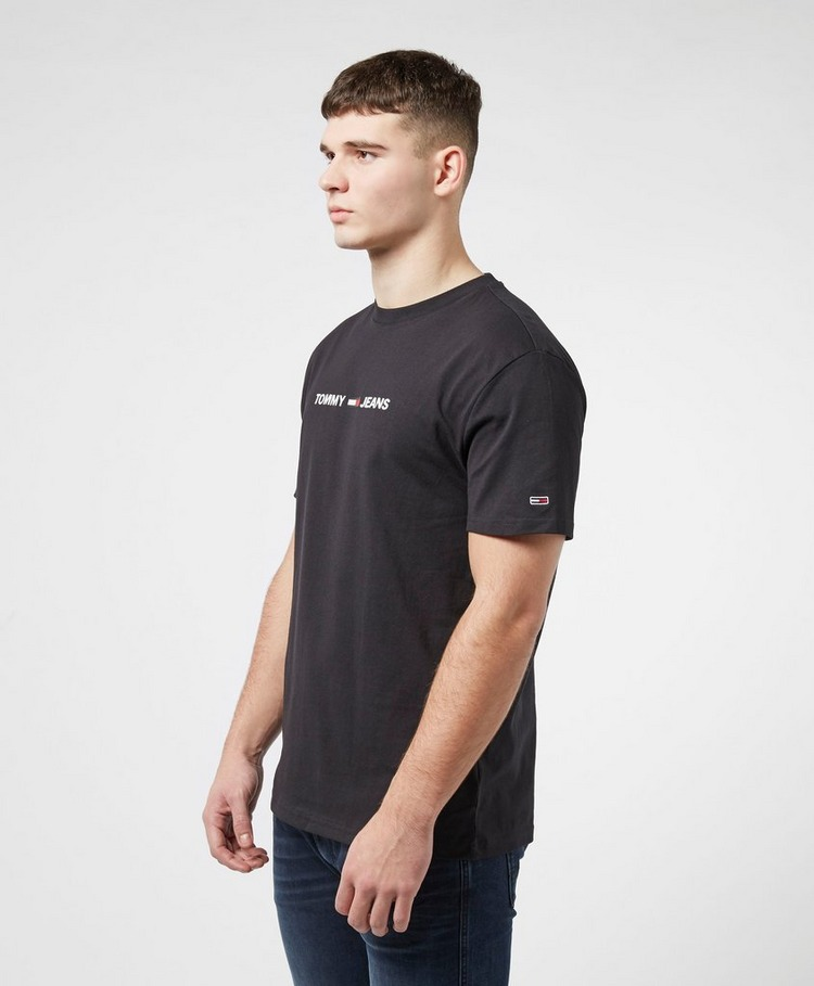 Tommy Jeans Linear Logo Short Sleeve T-Shirt