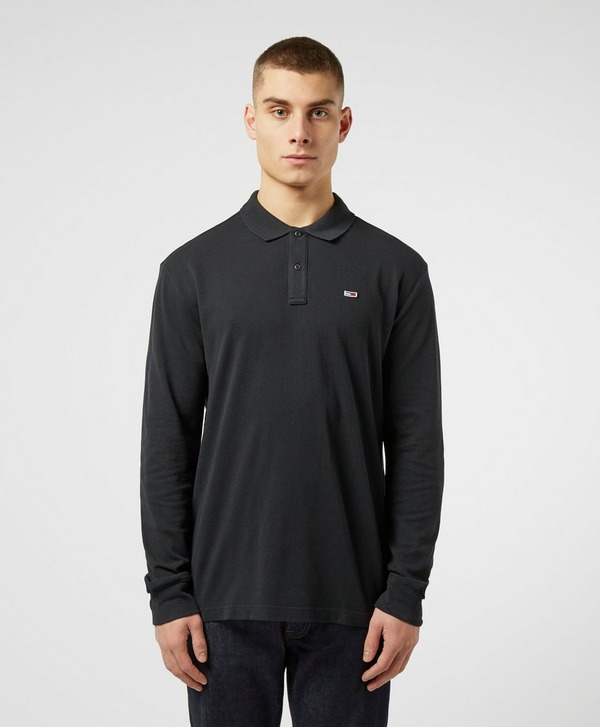 Tommy Jeans Classic Long Sleeve Polo Shirt