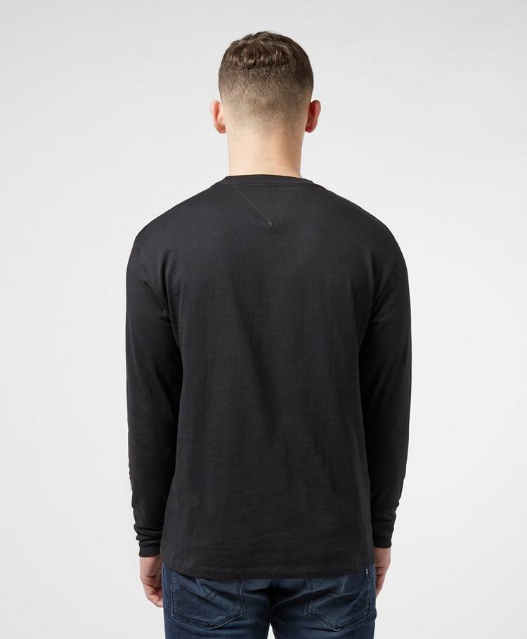 Tommy Jeans Emblem Long Sleeve Logo T-Shirt