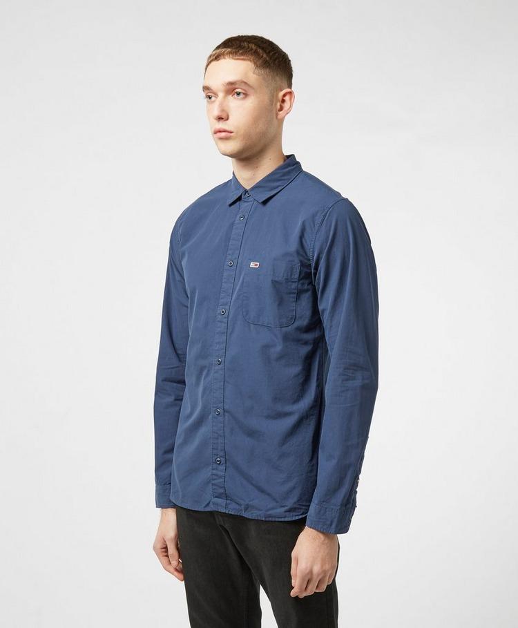 Tommy Jeans Poplin Long Sleeve Shirt