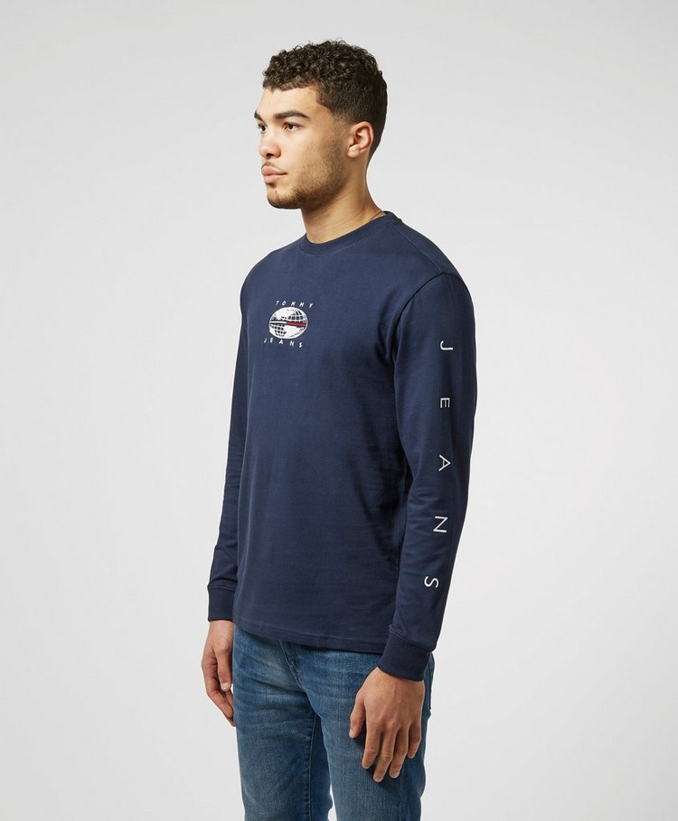 Tommy Jeans Outdoors Globe Long Sleeve T-Shirt