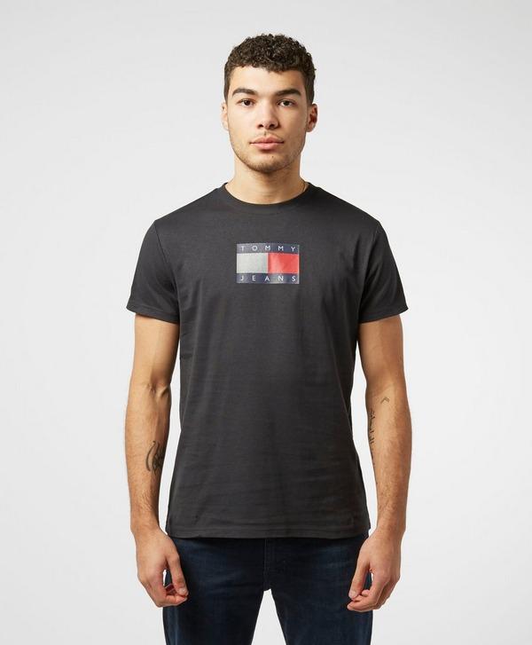 Tommy Jeans Metallic Logo Short Sleeve T-Shirt