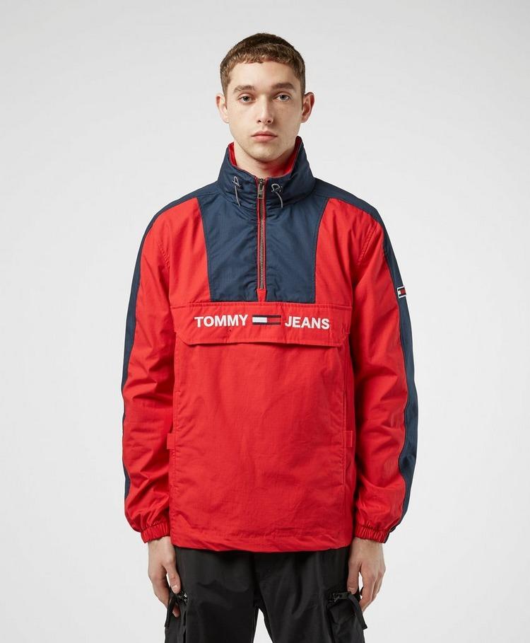 Tommy Jeans Colour Block Overhead Jacket