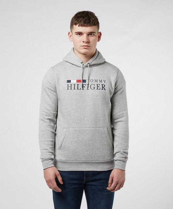 Tommy Hilfiger Emblem Overhead Hoodie