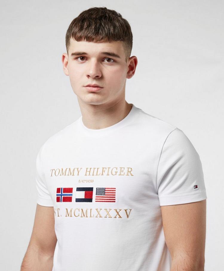 Tommy Hilfiger Multi Flag Short Sleeve T-Shirt