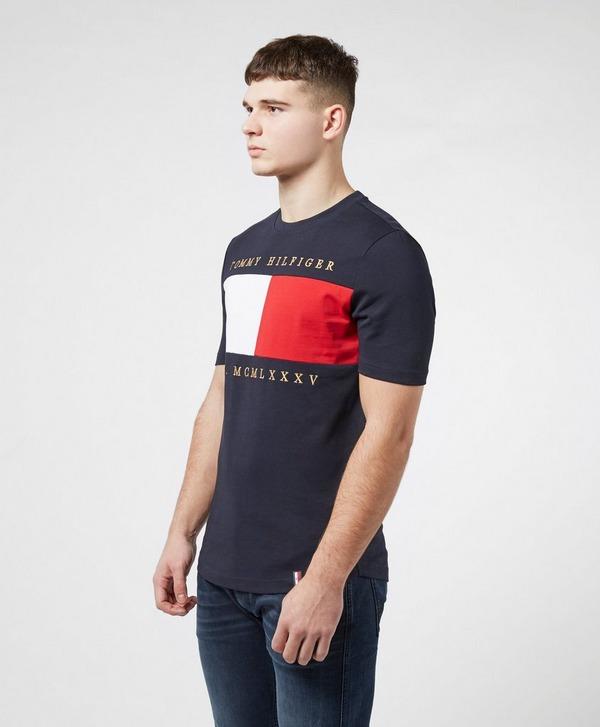 Tommy Hilfiger Chest Flag Short Sleeve T-Shirt