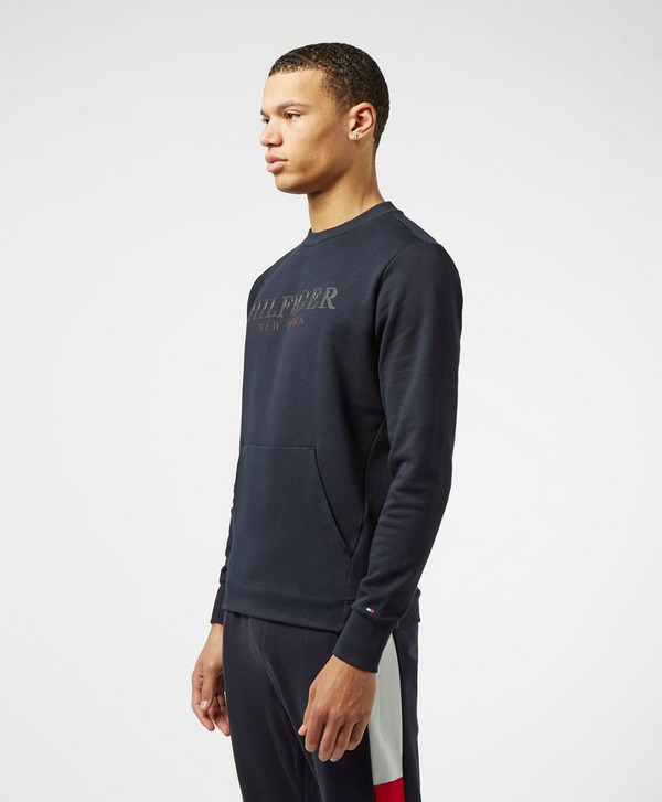 Tommy Hilfiger Tech Print Crew Sweatshirt