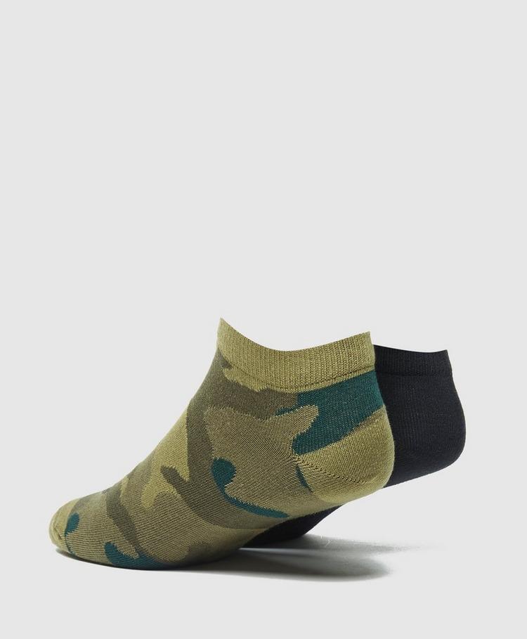 adidas Originals 2 Pack Camo Sock Liners