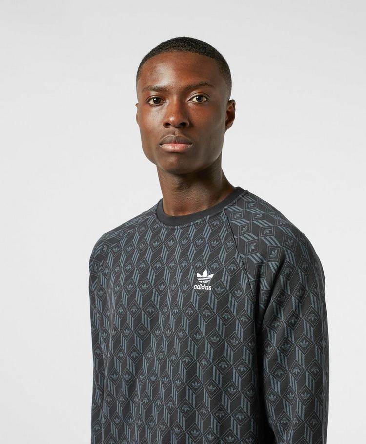 adidas Originals Monogram Print Sweatshirt