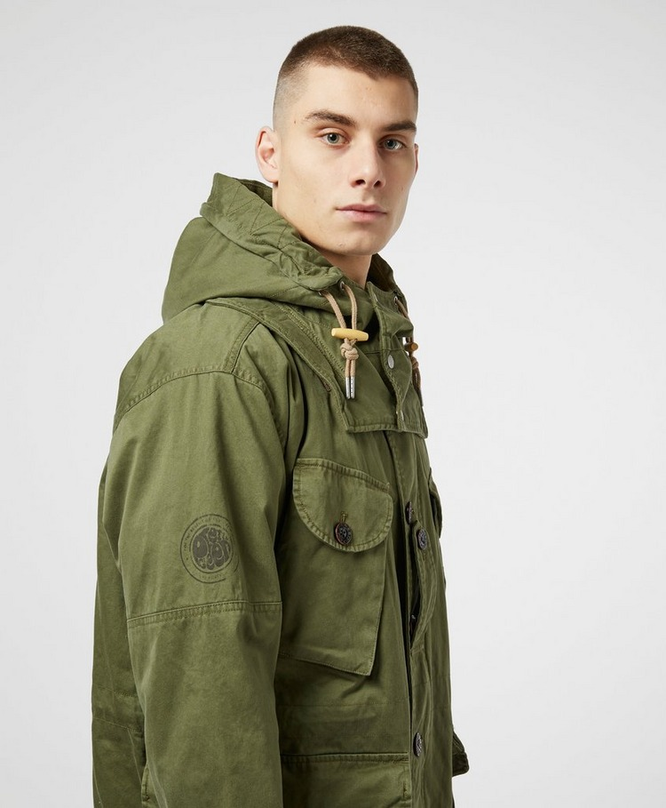 Pretty Green Canadian Padded Parka Jacket