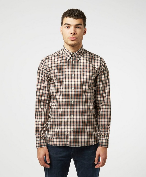 Pretty Green Leon Check Long Sleeve Shirt
