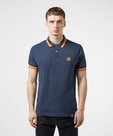 Pretty Green Curving Tipped Short Sleeve Polo Shirt