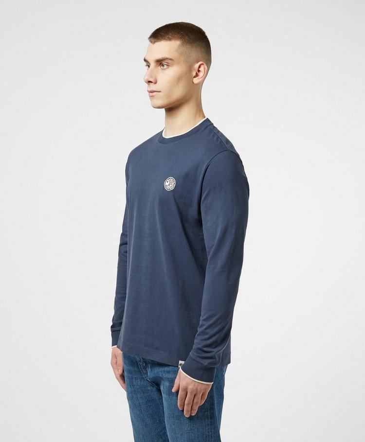 Pretty Green Tipperton Long Sleeve T-Shirt
