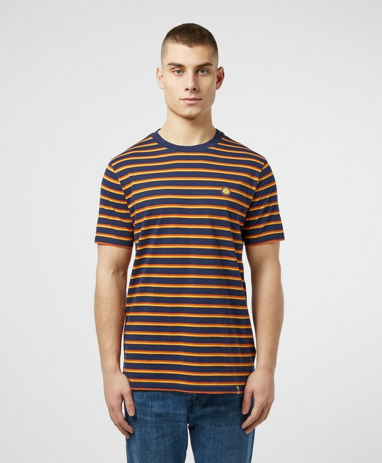 Pretty Green Complex Stripe Short Sleeve T-Shirt