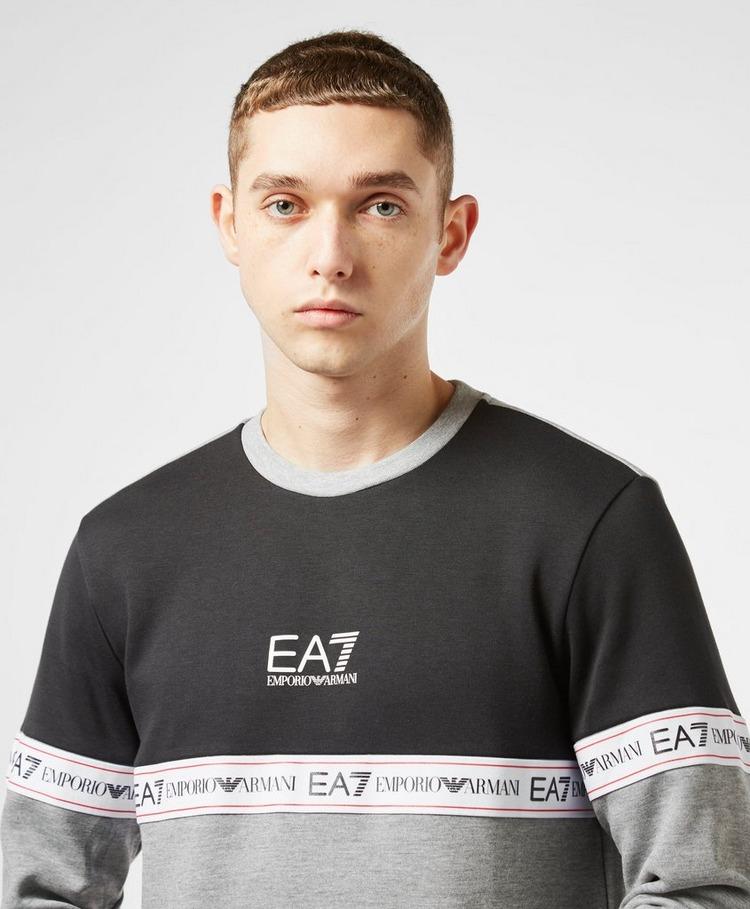 Emporio Armani EA7 Colour Block Tape Sweatshirt - Exclusive