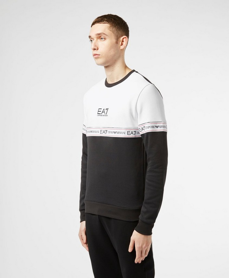 Emporio Armani EA7 Colour Block Tape Sweatshirt - Exclusive