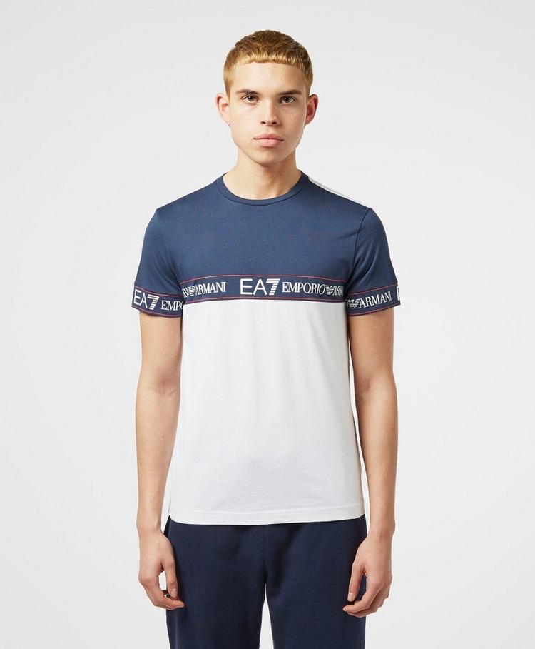 Emporio Armani EA7 Block Tape Short Sleeve T-Shirt - Exclusive