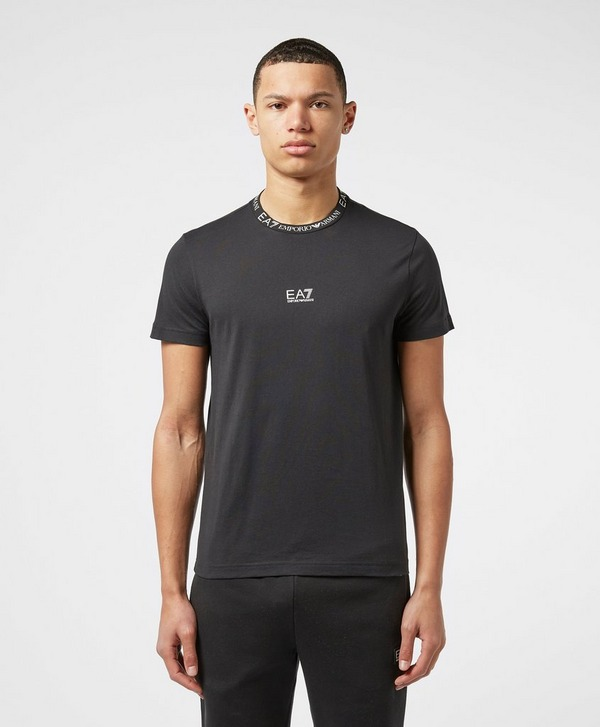 Emporio Armani EA7 Central Neck Logo Short Sleeve T-Shirt - Exclusive